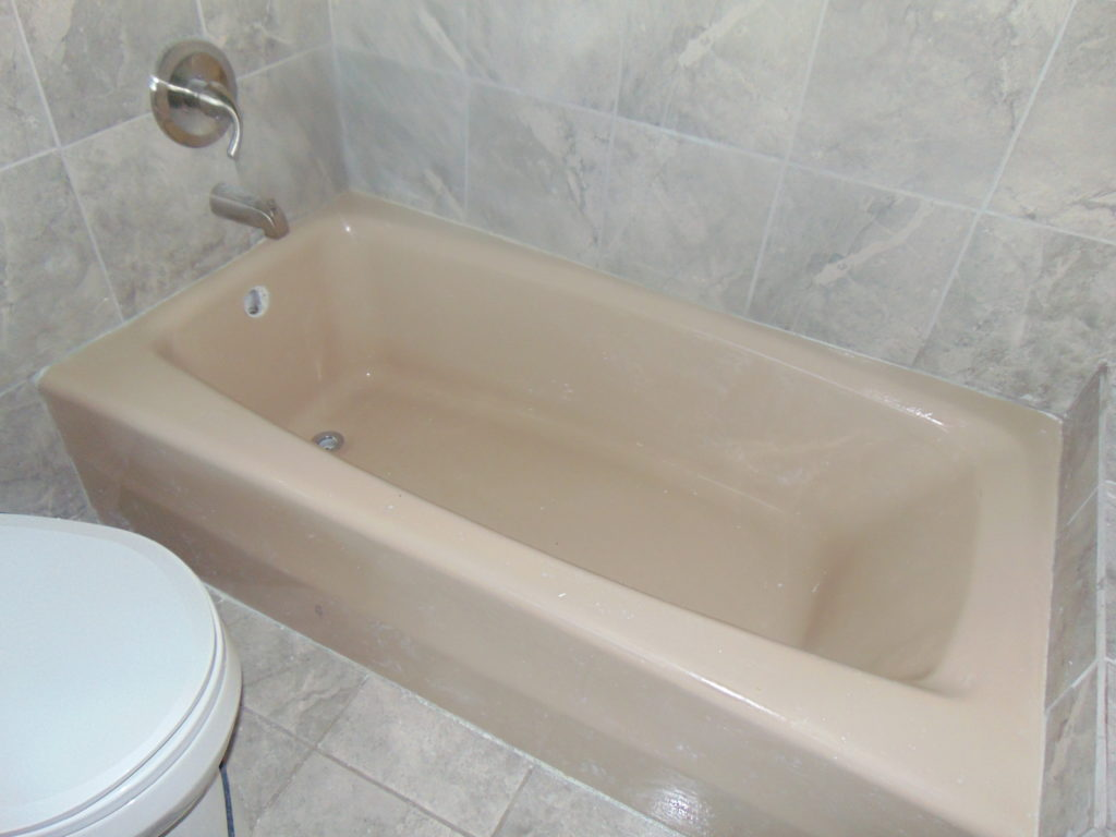 during-pink-tub-bathtub-refinishing